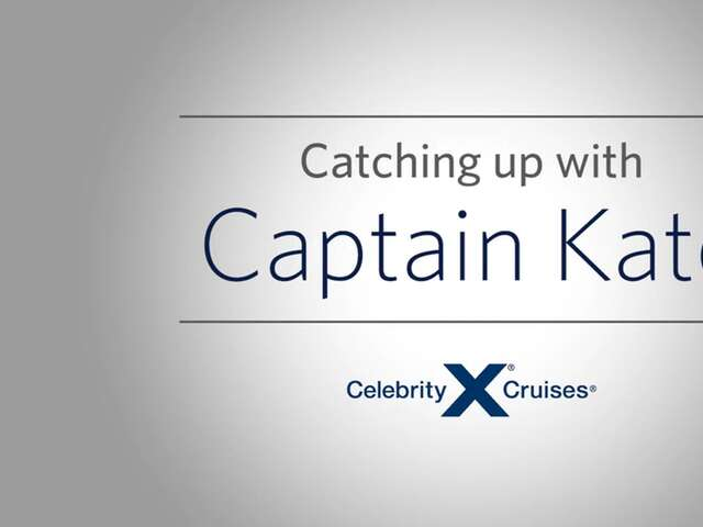 Catching Up with Celebrity Cruises' Captain Kate