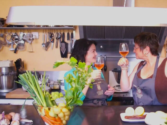Video: Culinary School in Provence, France