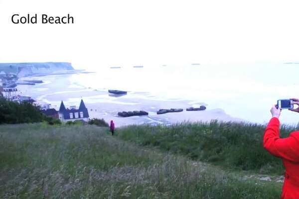 Video: Normandy WW2 Landing Beaches