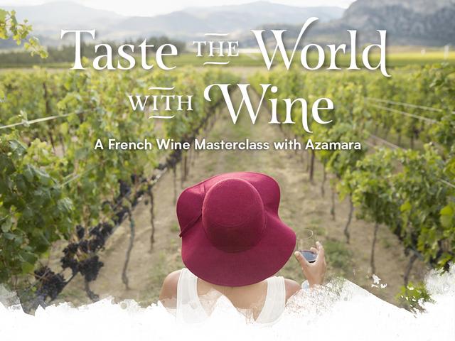 You're Invited to Azamara's Virtual Wine Tasting