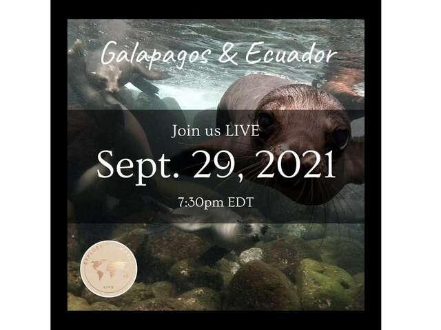 'Discover Galapagos & Ecuador' with G Adventures - Sep 29th, 7:30EDT
