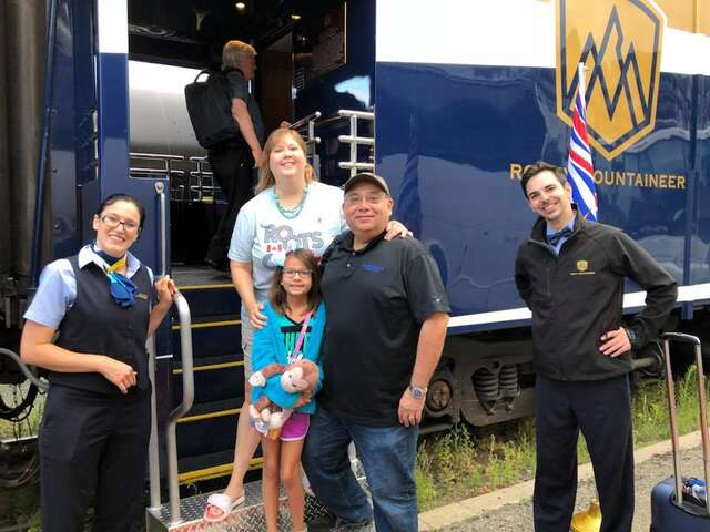 Isle Travel Customer Highlight: Three Generations Travel Together Aboard the Rocky Mountaineer