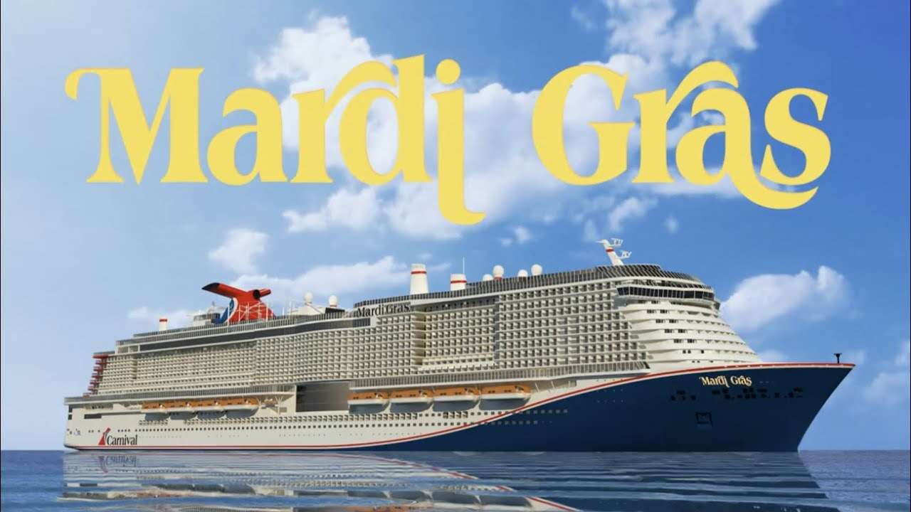 Sail With Gone Again Travel On Carnival Cruise Newest Ship: Mardi Gras