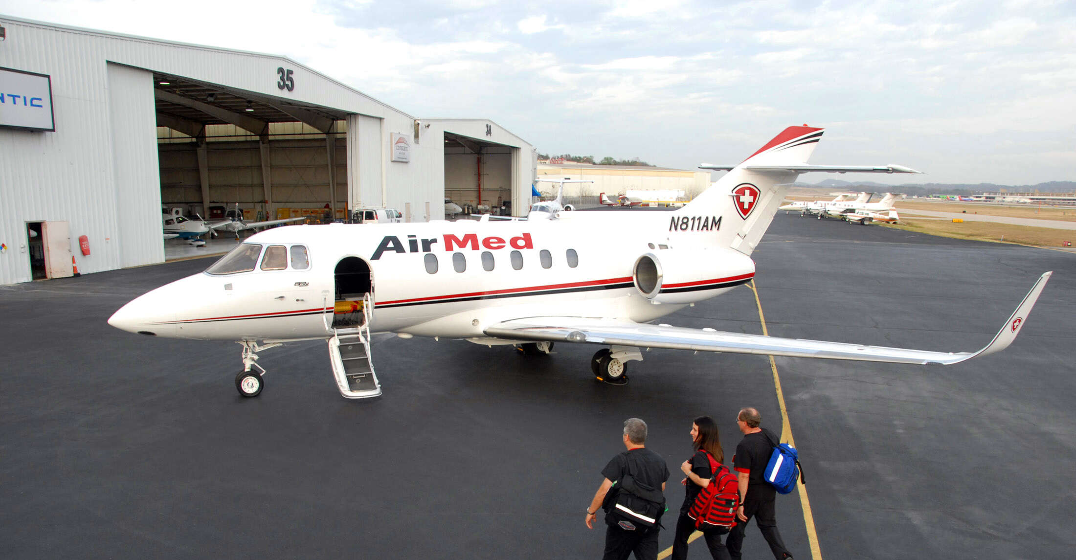 Isle Travel customers can now have peace of mind by taking advantage of owner/operator AirMed air ambulance plans.