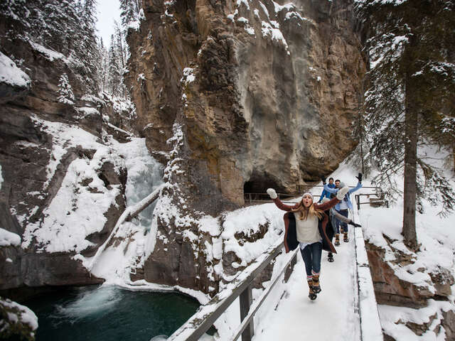 Discover the magic of Winter in the Canadian Rockies — Fully Escorted Small Group Tour