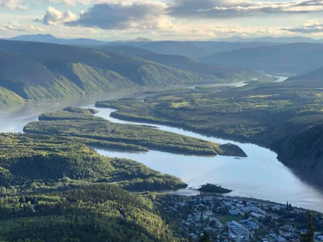 Epic wide open spaces of the Yukon