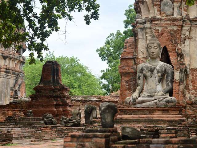 Monday 16 November – Bangkok-Ayutthaya