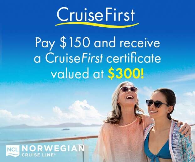 CruiseFirst with NCL and get MORE!