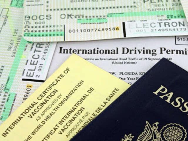 Organizing Your Travel Documents
