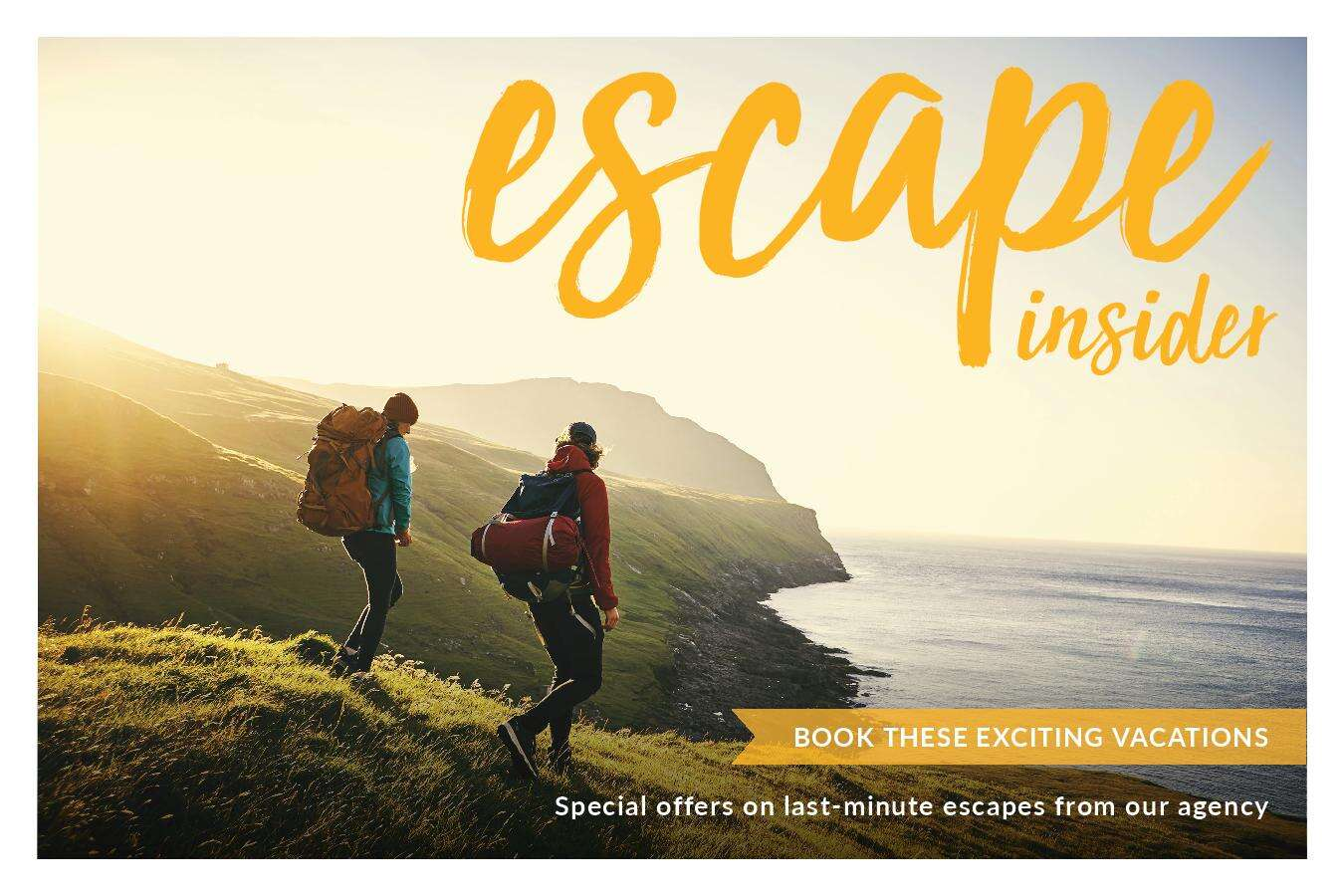 Fantastic Vacation Inspiration From Escape Insider