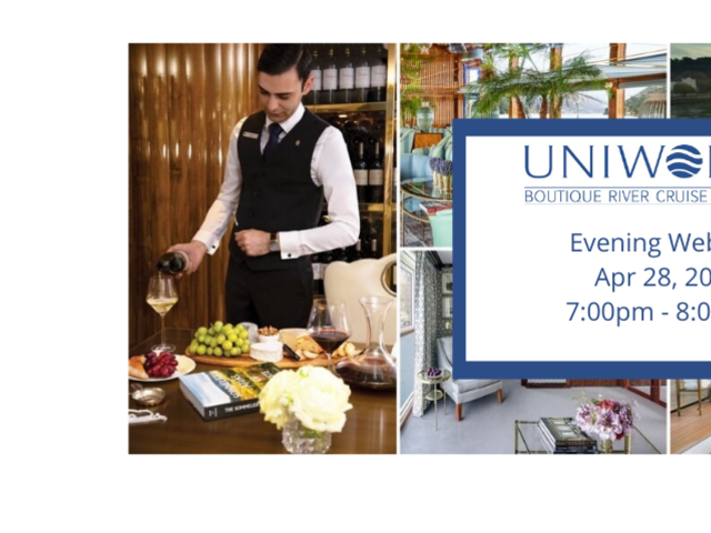 An Evening with Uniworld Boutique River Cruises