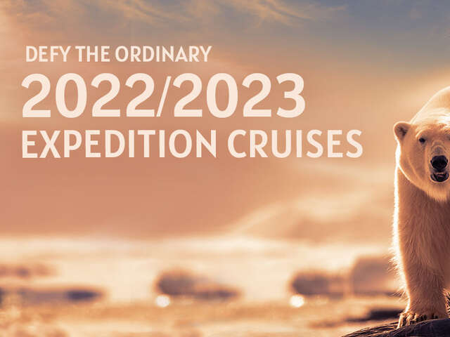 Defy the Ordinary: 2022/2023 New Season Sale with Hurtigruten