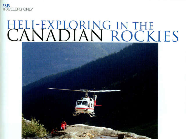 Heli Exploring in the Canadian Rockies