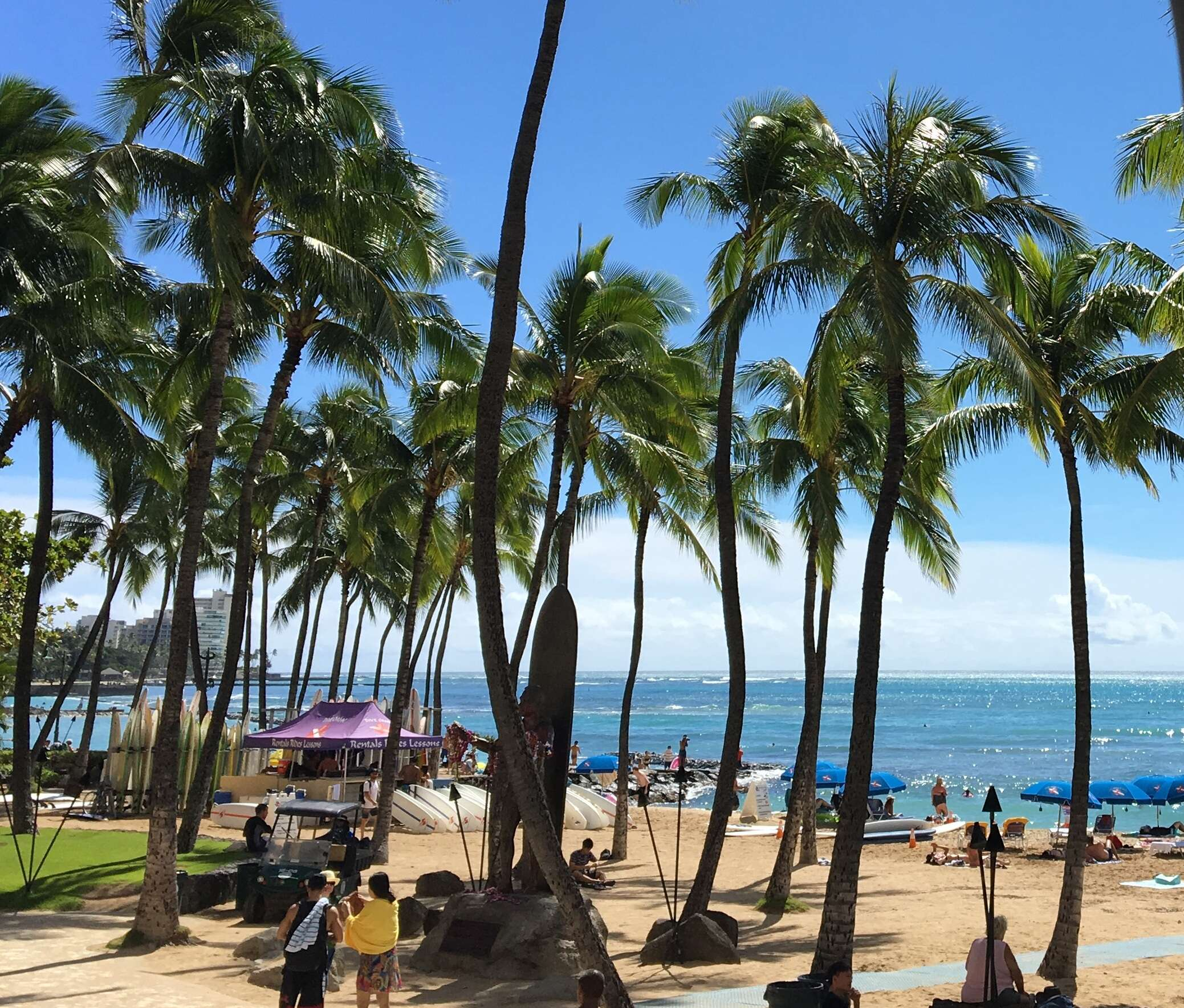 Two different types of trips to Honolulu, Oahu