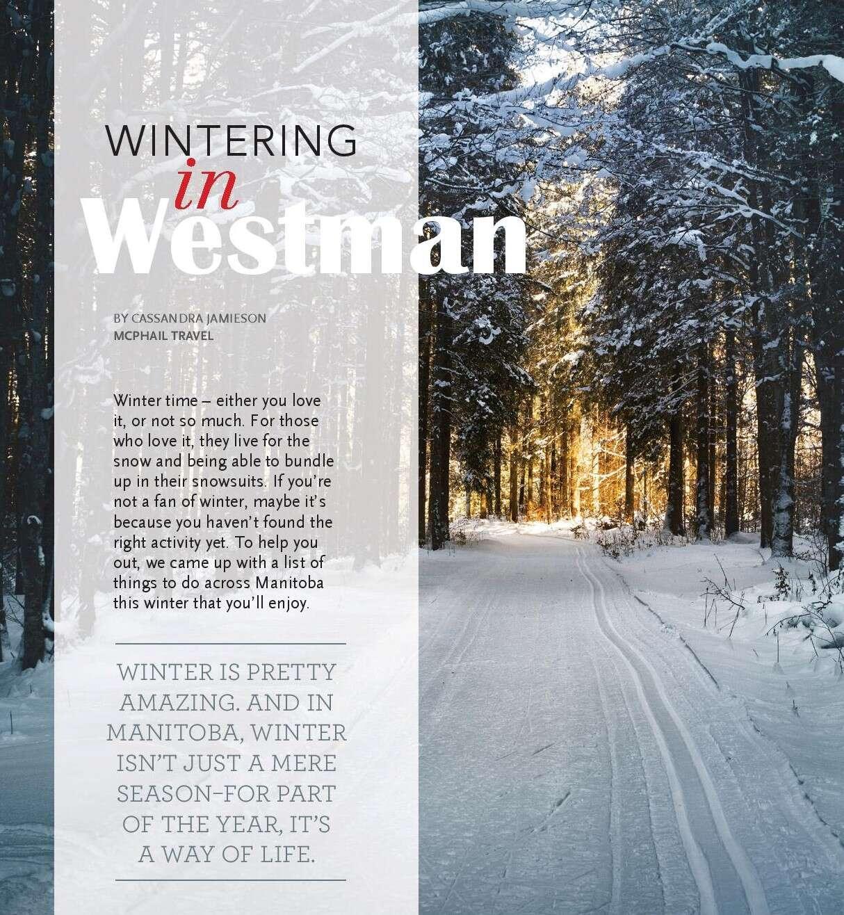 WINTERING in Westman