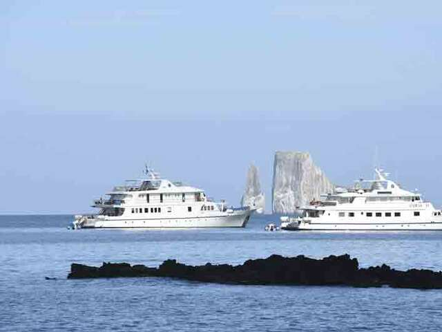 CRUISING THE GALAPAGOS ISLANDS - CORAL I & CORAL II