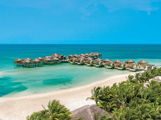 Over Water Bungalows that you don't need to travel far away for...