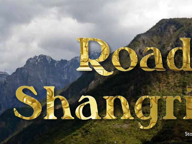 Road to Shangrila Yunnan China by Toni McNicol
