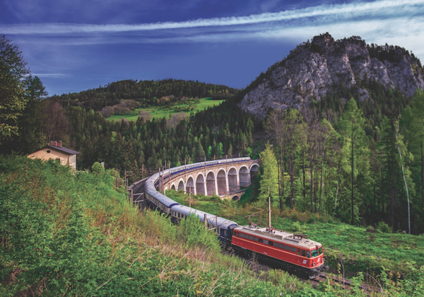 Tauck's New 'Grand Rail Adventure' Features Austria, Swiss Alps and Italy