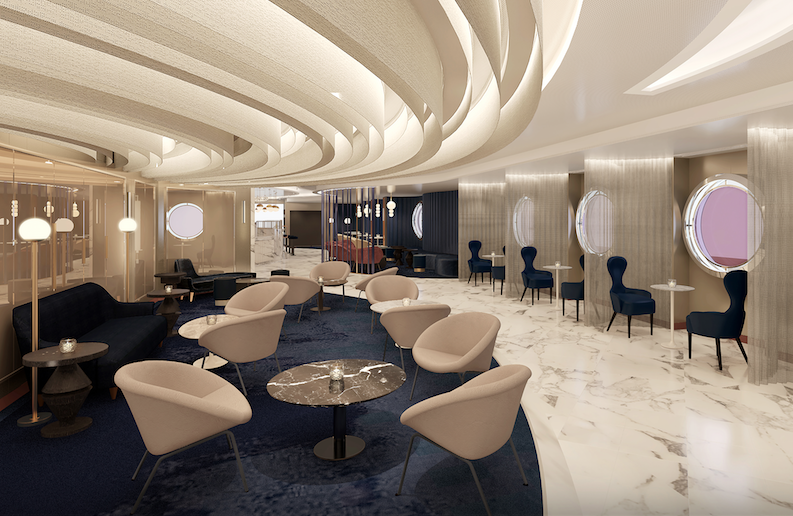 Virgin Voyages' 'Save Water, Drink Champagne' Easy Button