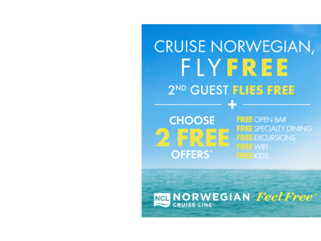 Norwegian Fly Free Promotion