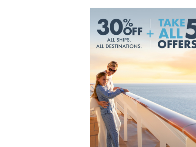 30% Off with Norwegian Cruise Line