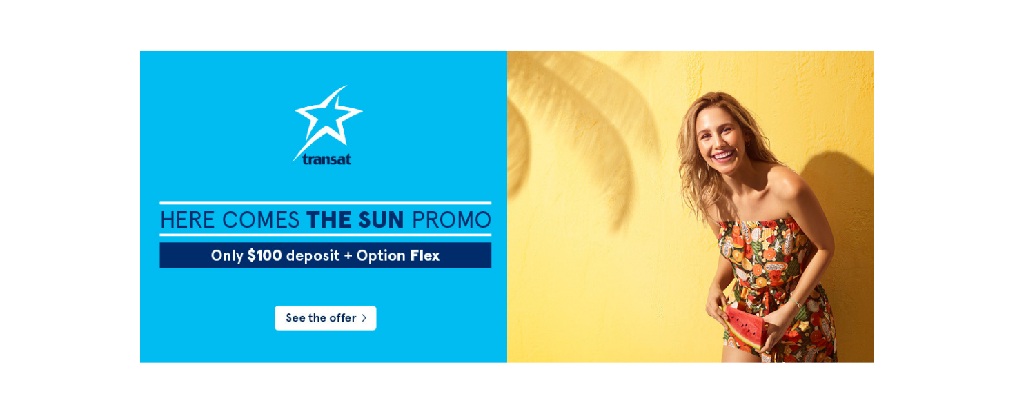 Early Bird Perks and Extra Flexibility with Transat