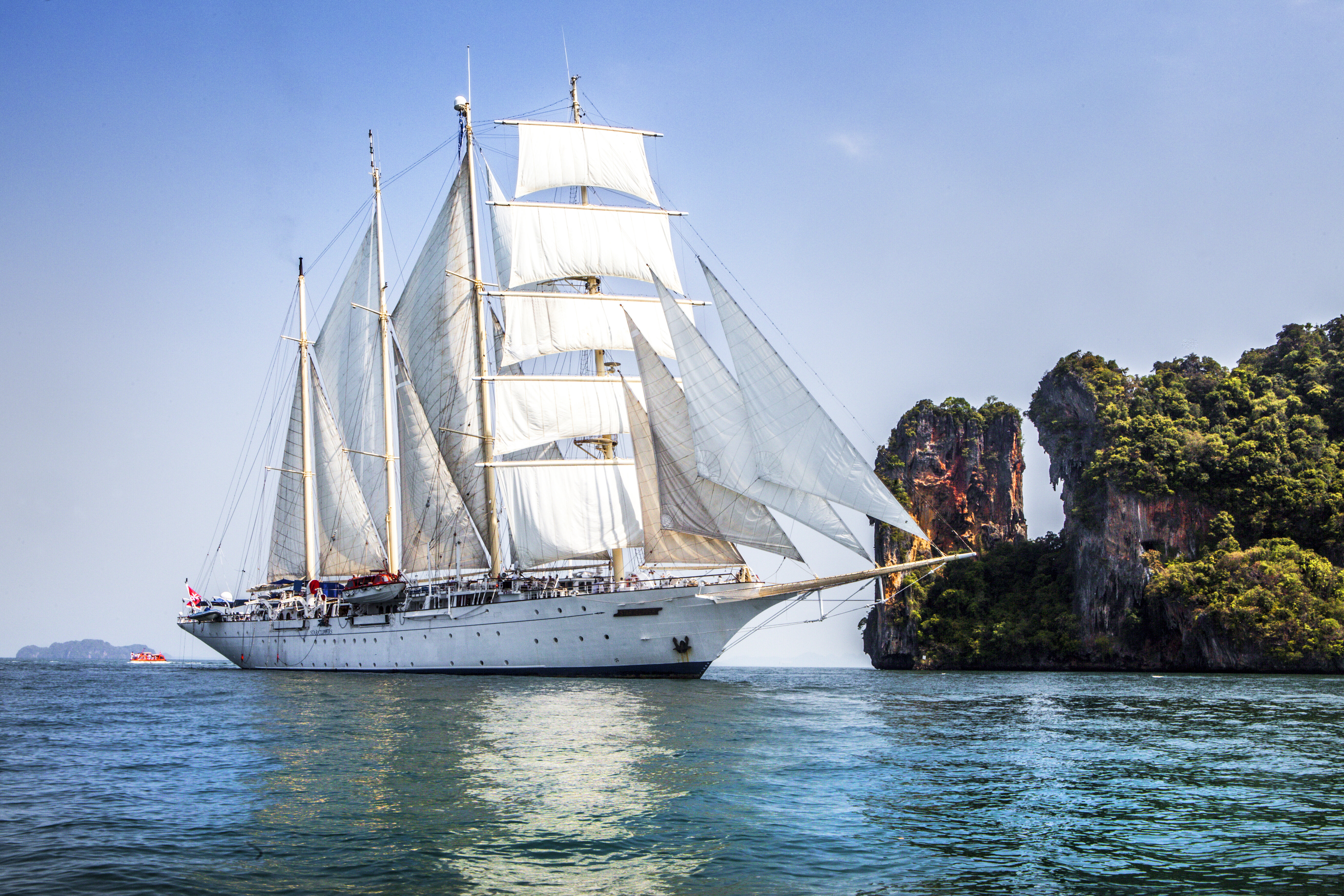 Star Clipper in Asia 7 nights from Phuket Northern Thailand