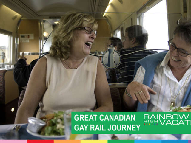 GREAT GAY RAIL JOURNEY ONTARIO & QUEBEC