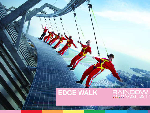 EDGE WALK AT THE CN TOWER