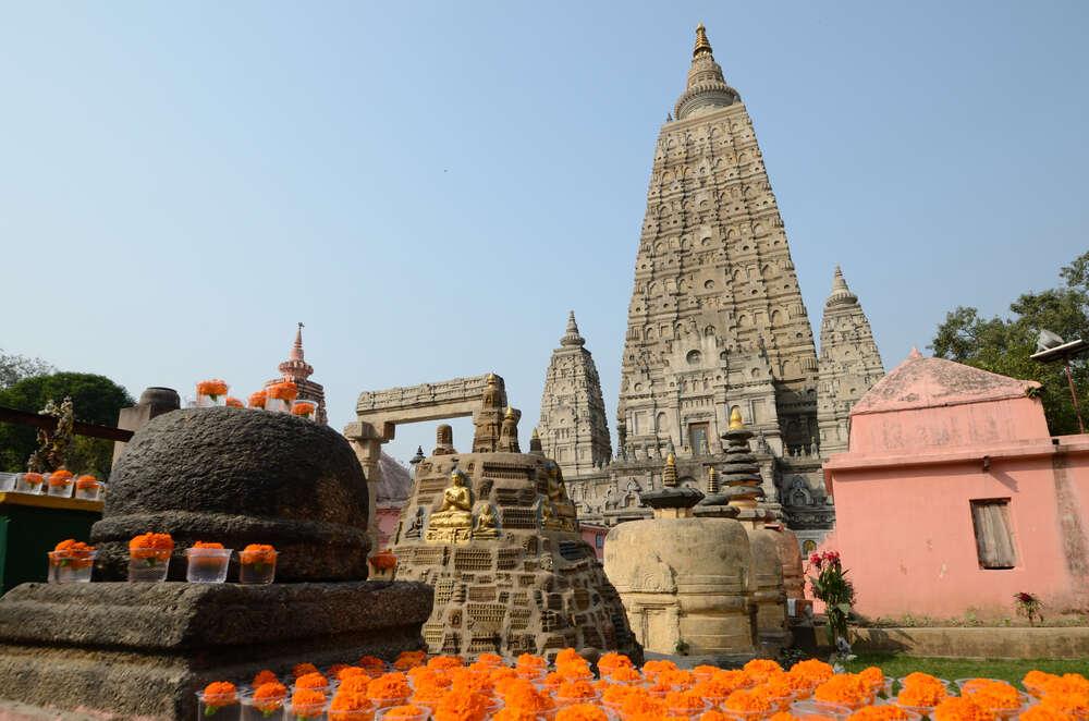 Mahabodhi Temple Complex at Bodh Gaya