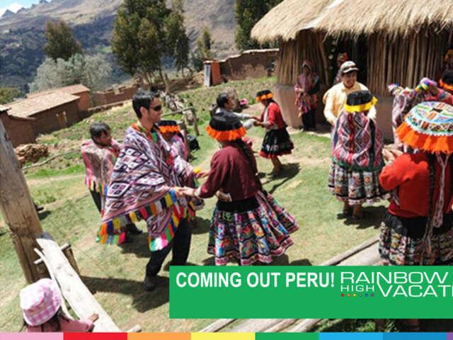 COMING OUT PERU!