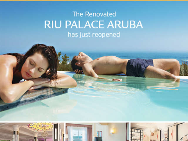 RIU PALACE ARUBA renovated in time for Winter 2015!