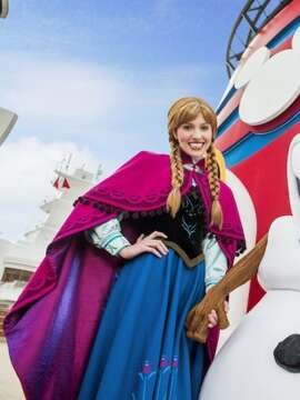 Frozen themed Disney Cruises now available!