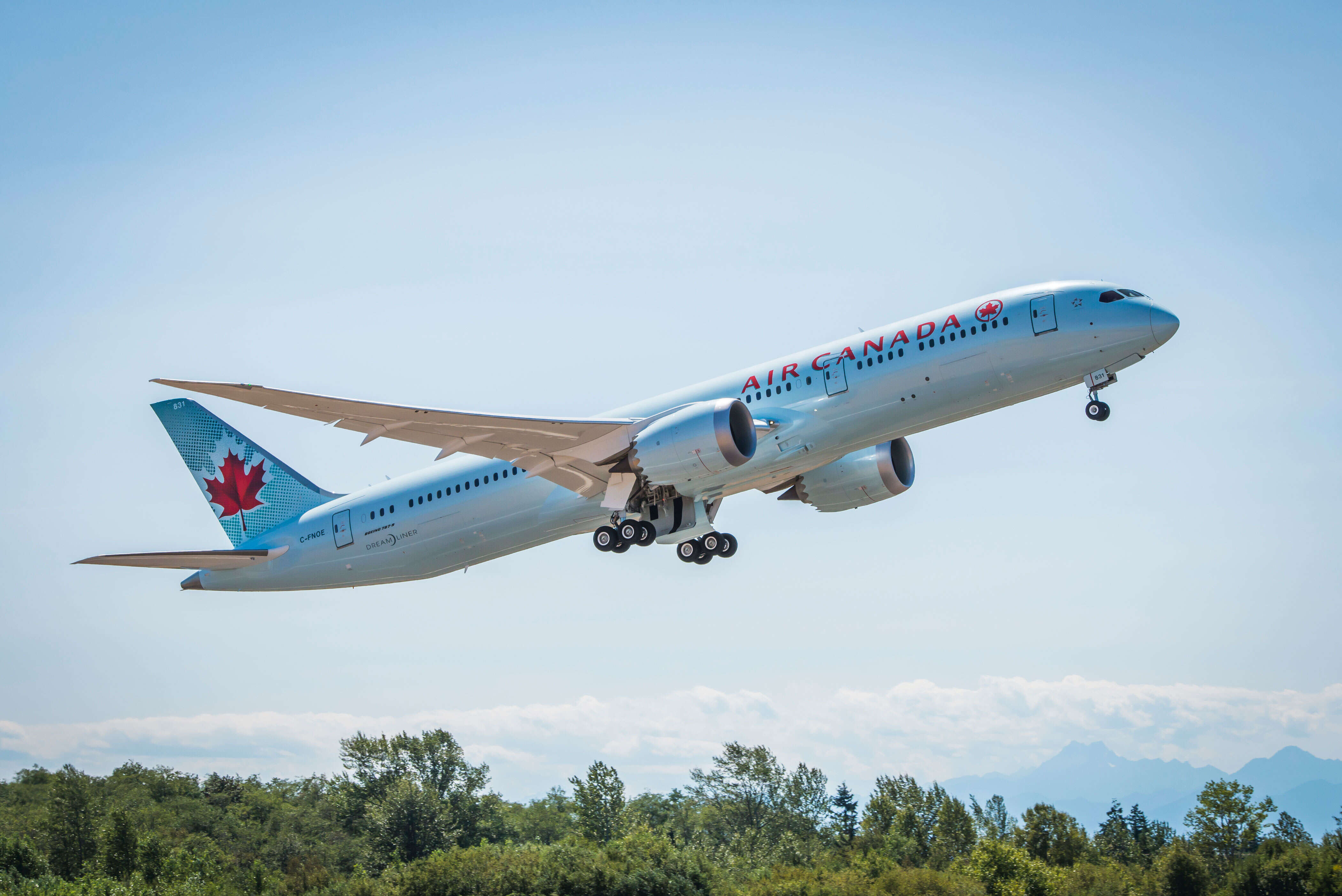 New Air Canada Non-stop Flights, and Dreamliner Service to Europe and Asia