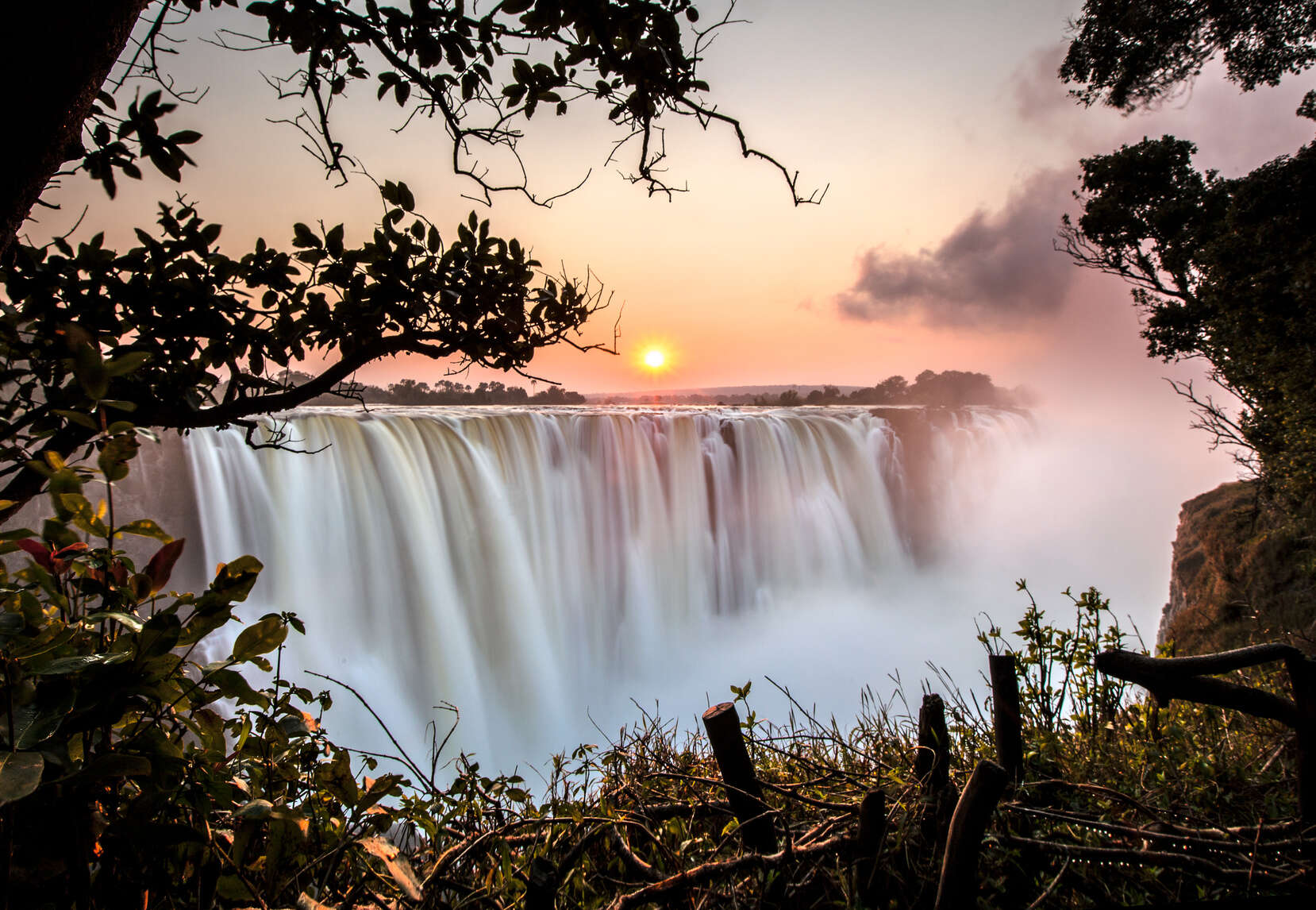 Victoria Falls, One of the Seven Wonders of the World