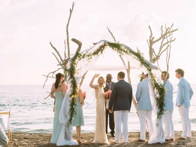 Dream Hideaway Weddings at Jake's in Treasure Beach, Jamaica