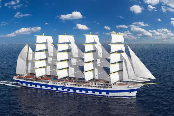 Tall Ship Sailing Cruise Line Recreates Largest Ship of its Kind