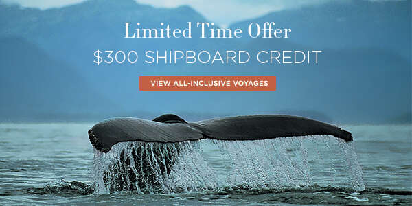 $300 Shipboard Credit & Unlimited Excursions