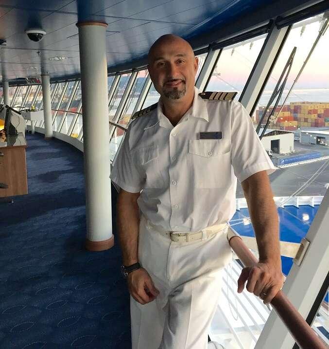 On the Bridge with Captain Manzi
