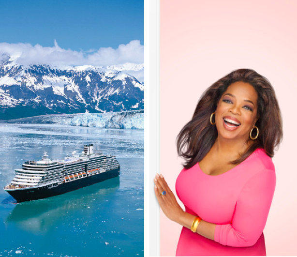 Cruise with Oprah on Holland America Line