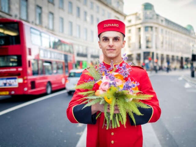 Polish your Green Thumb on Cunard's First Festival of Flowers Voyage