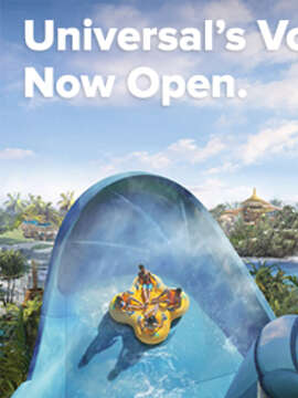 NOW OPEN - Universal's Volcano Bay