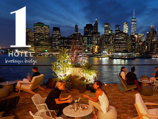 SELECT THE VIEWS AT 1 HOTEL BROOKLYN BRIDGE WITH 10% OFF BAR