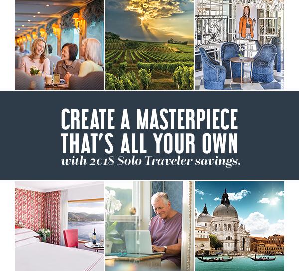 Uniworld River Cruise 2018 Solo Traveler Savings