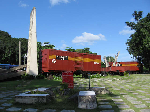 Monument to the Armored Train
