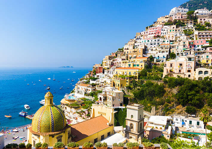 BEST OF THE AMALFI COAST -ITALY 10 days-9 nights