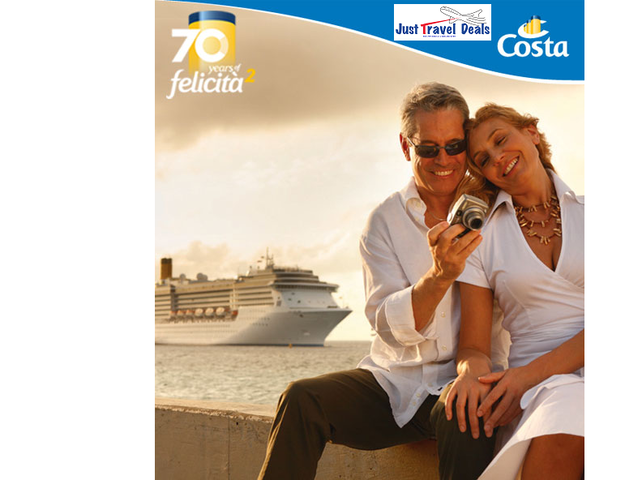 Enjoy a taste of Italy without the international price tag! Starting from $499 pp* Costa Cruises