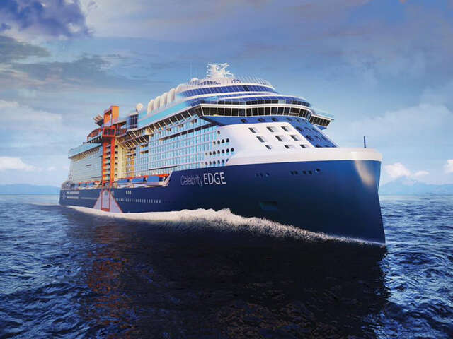 Celebrity Cruises Takes Delivery of the Groundbreaking Celebrity Edge