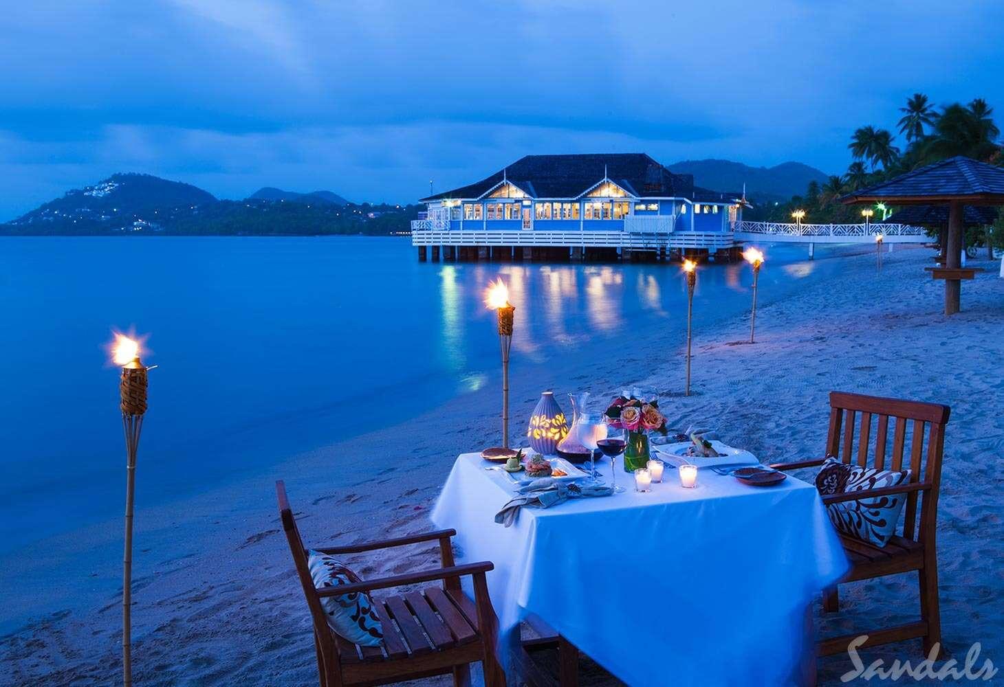Sandals Halcyon Beach St. Lucia